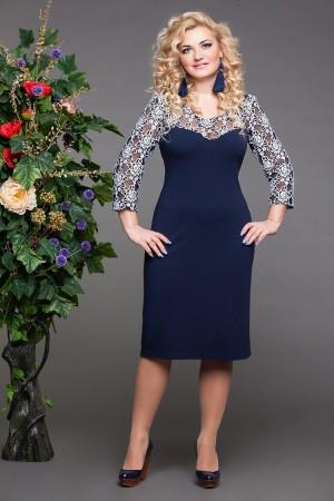 Дамские платья больших размеров