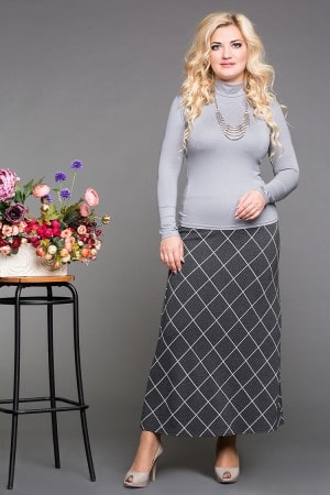 Юбка «Шотландка» - Женская одежда больших размеров в Минске