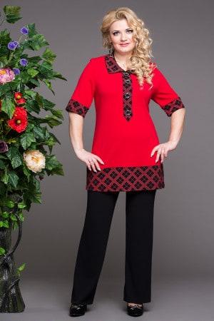 Туника Рената - Женская одежда больших размеров в Минске