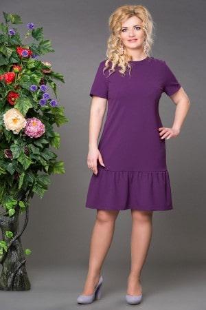 Платье Рыбка фиолетовое