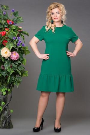 Платье Рыбка зеленое