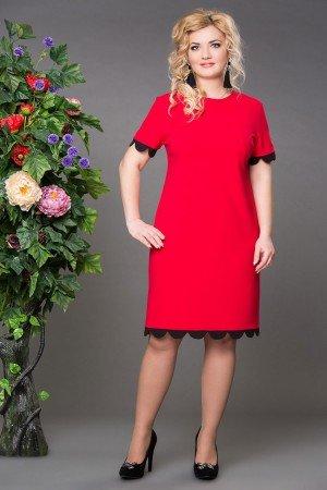 Платье Джульетта красное