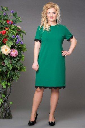 Платье джульетта зеленое