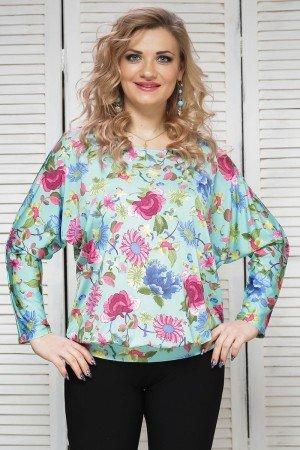 блуза-радуга-мятный