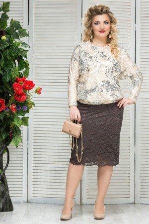 стильная женская одежда больших размеров