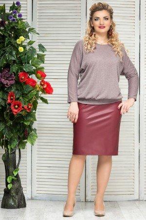 кожаные юбки больших размеров