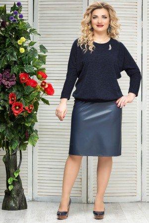 эко кожа в женской одежде больших размеров