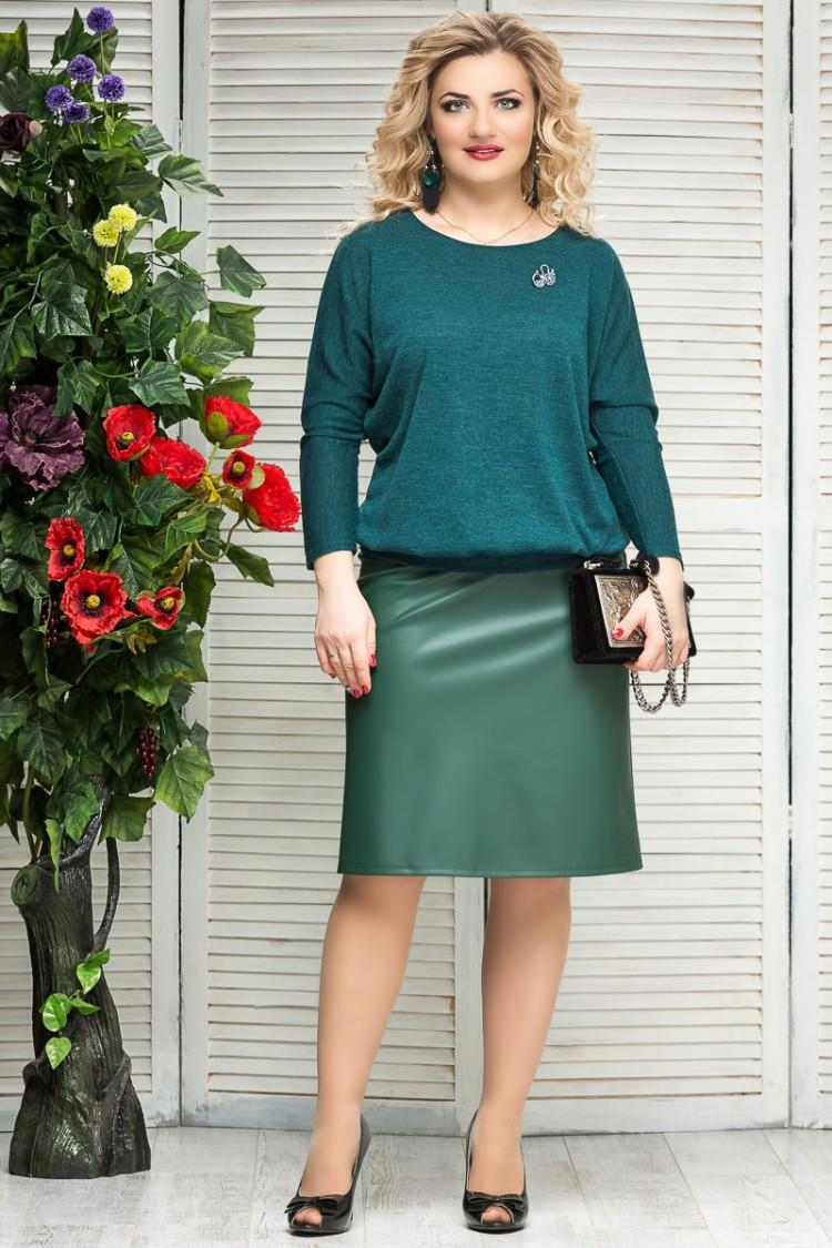 юбка-зара-зеленый
