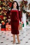 блуза лилиана и годе бордо