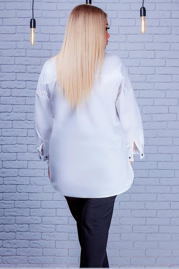 рубашка-Классик-белый-сзади