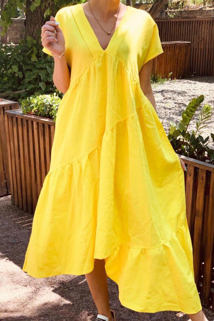 сарафан-лиза-желтый