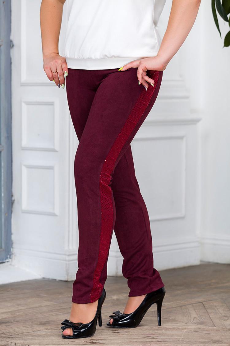 брюки-агата-бордо
