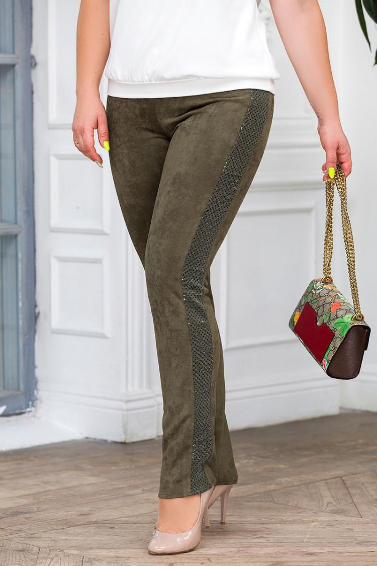 брюки-агата-оливковый